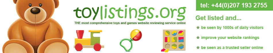 toys and games listings