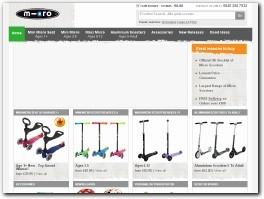https://www.micro-scooters.co.uk/ website
