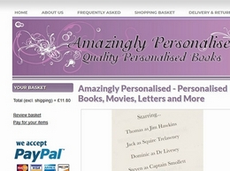 https://www.amazinglypersonalised.co.uk/ website