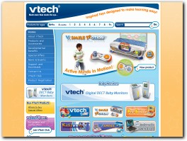 https://www.vtech.co.uk/ website