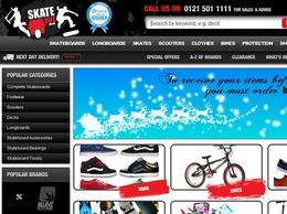 https://www.skatehut.co.uk/scooters website