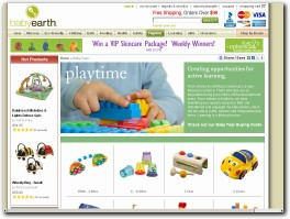 https://www.babyearth.com/baby-toys.html website
