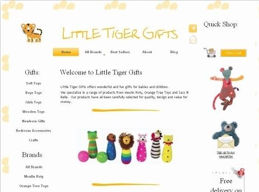 https://www.littletigergifts.co.uk/ website
