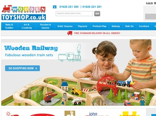 http://www.woodentoyshop.co.uk website