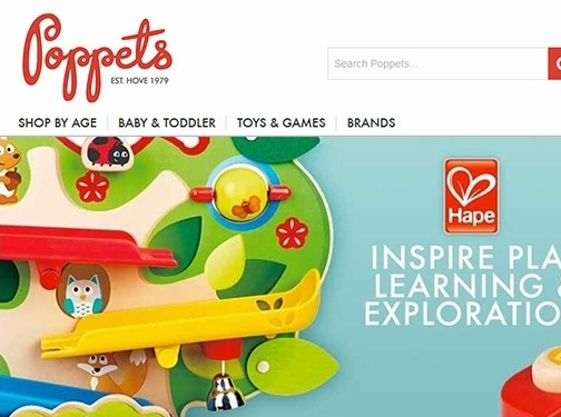 https://www.poppets.biz/ website